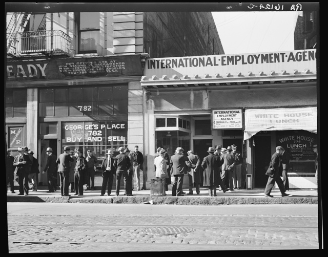 Employment agency. San Francisco