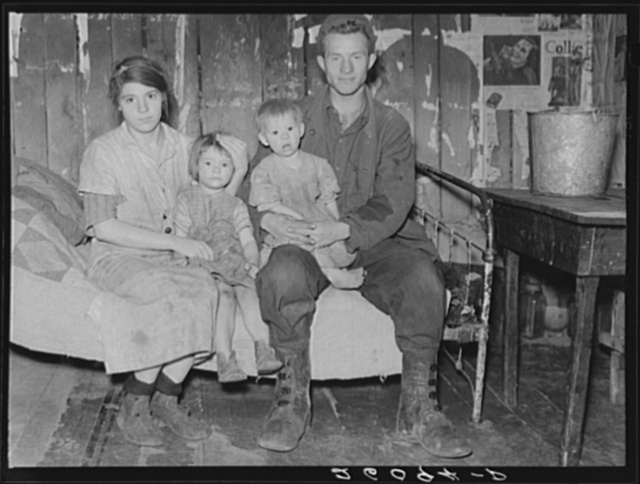 Family living in the hills of Garrett County, Maryland