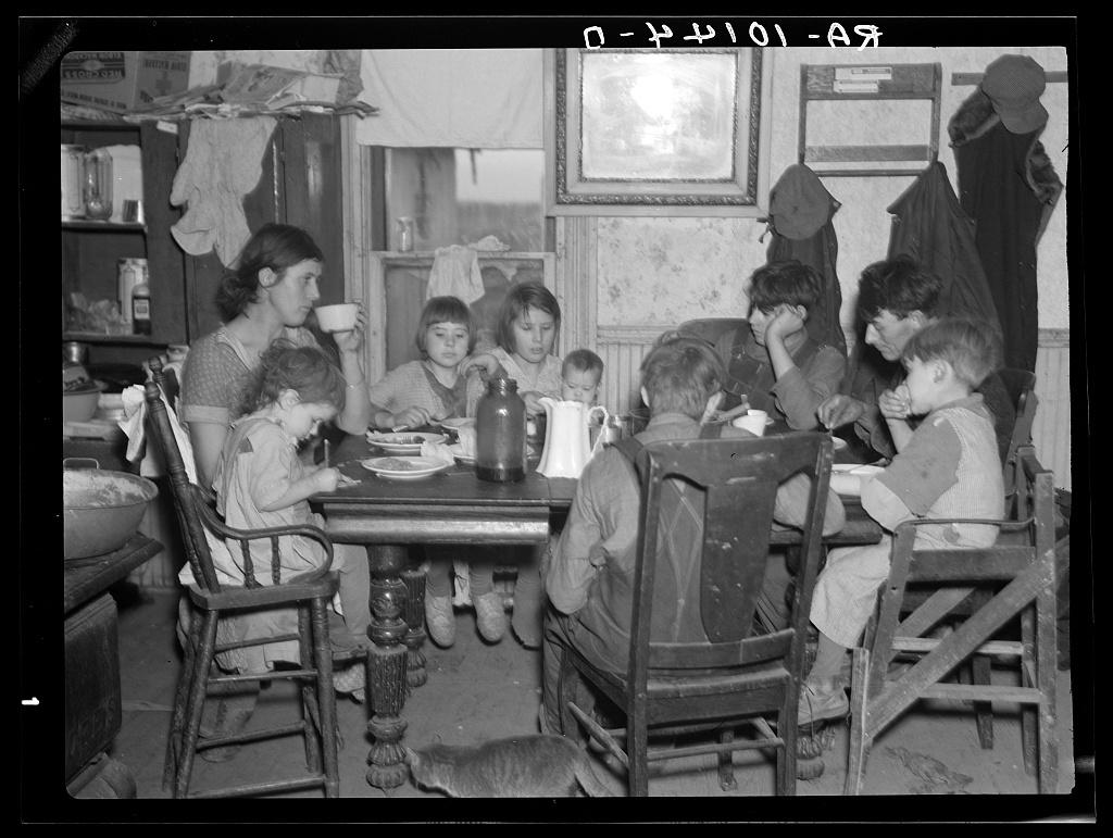 Family of Alfred Atkinson, farmer near Shannon City, Iowa