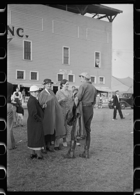 Farm folks at the fair, Essex Junction, Vermont