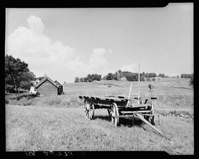 Farm scene. Windsor County, Vermont