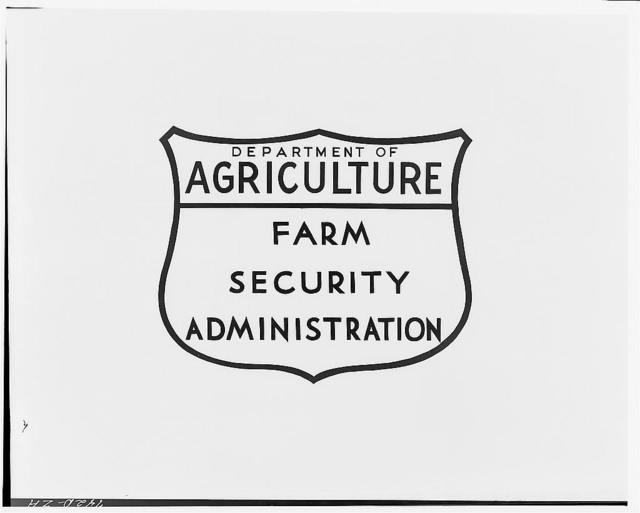 Farm Security Administration emblem