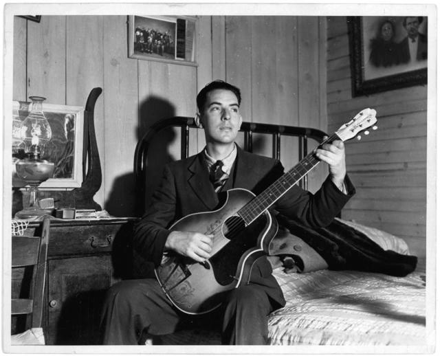 [Fields Ward of Bog Trotters Band, with guitar, Galax, Virginia]