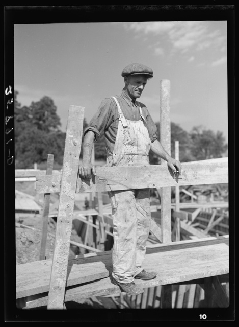 Foreman of sawmill construction and member of the Otsego Forest Products Coop. Otsego County, New York