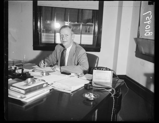 Frank Bane, Exe. Director, 2/2/37, Social Security Board