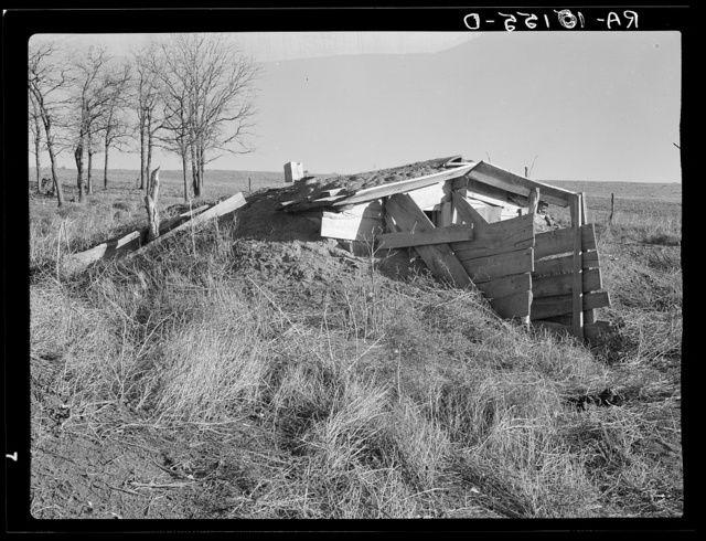 Frank Moody and family lived in this home for two years. Near Anthon, Iowa