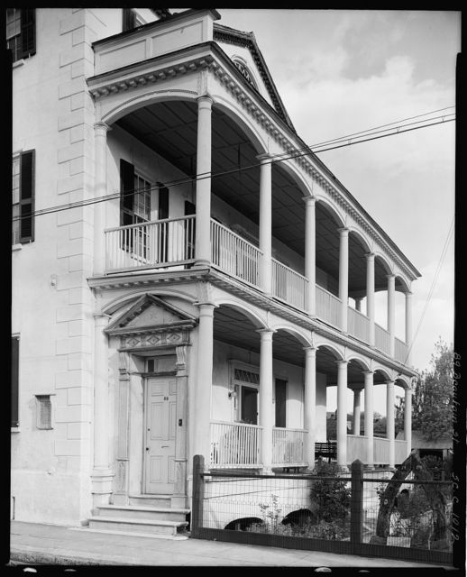 Gardner House, 89 Beaufain St., Charleston, Charleston County, South Carolina