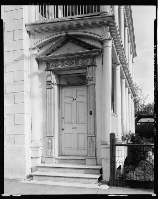 Gardner House, 89 Beaufain St., Charleston, Charleston County, South Carolina