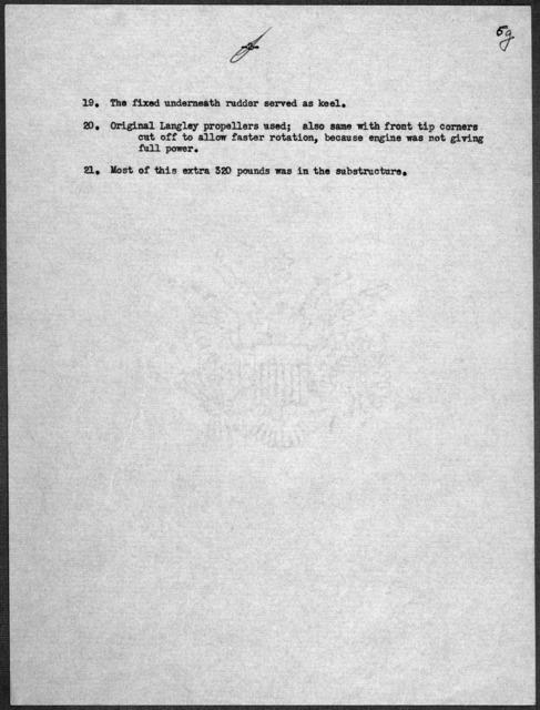 General Correspondence:  Smithsonian Institution, 1937-1940