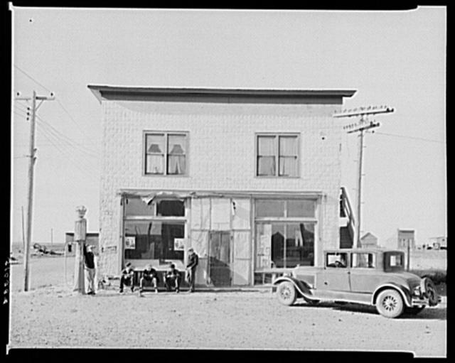 General store. Rawson, McKenzie County, North Dakota