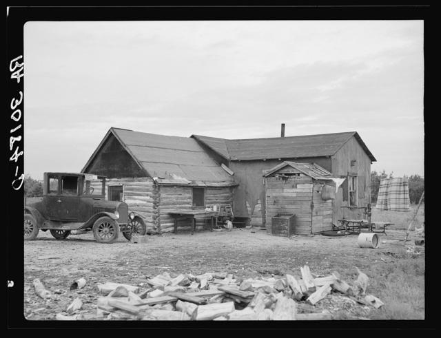 Home of Art Simplot near Black River Falls, Wisconsin