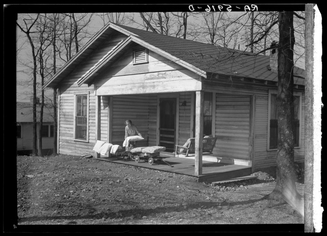 Home of C.L. Eargle. Fairfield, Alabama. The Eargle family will move to Gardendale, Alabama