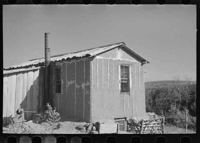 House on the Tronson farm. Truax Township, Williams County, North Dakota
