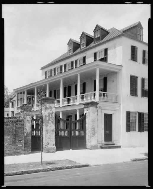 James Hartley House, 43 East Bay Street, Charleston, Charleston County, South Carolina