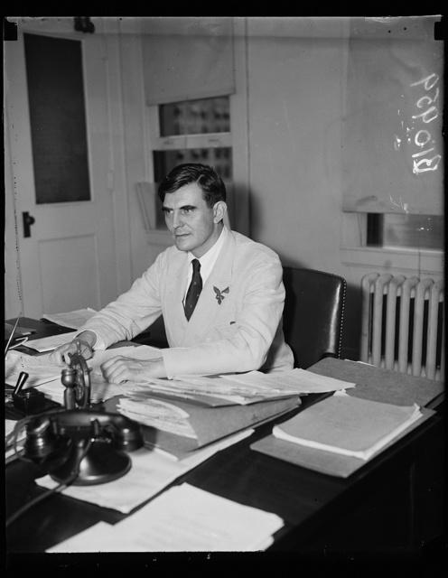 John G. Winant, Chairman Social Security Bd.