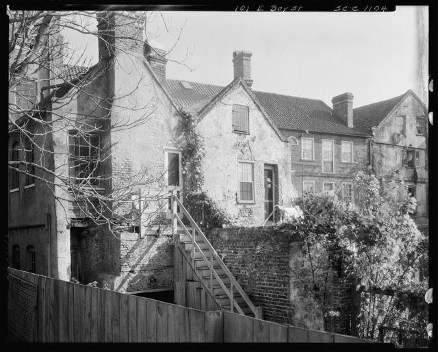 Legges House, 101 East Bay, Charleston, Charleston County, South Carolina
