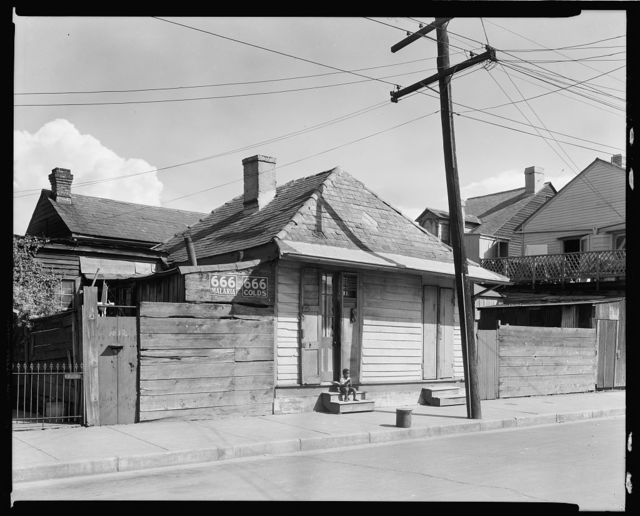 Liberty St. Cottages, New Orleans, Orleans Parish, Louisiana