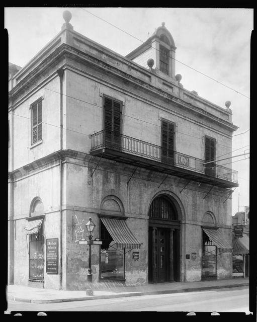 Louisiana State Bank, 401 Royal St. at Conti, New Orleans, Orleans Parish, Louisiana