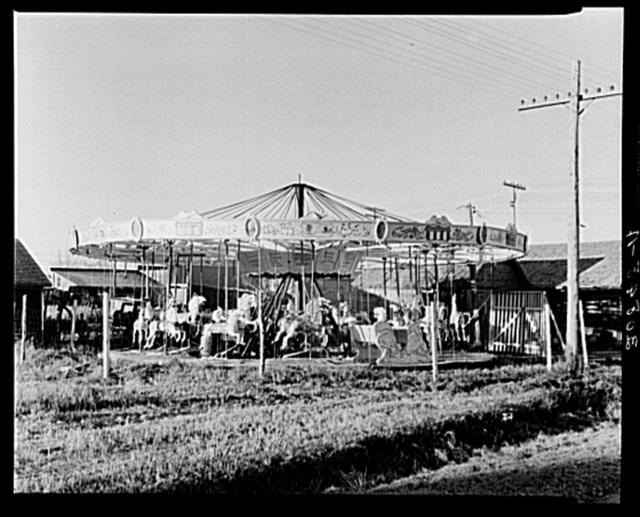 Merry-go-round. Towner, North Dakota