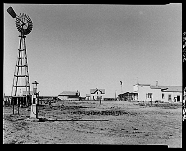 Middlewestern four corners. McKenzie County, North Dakota