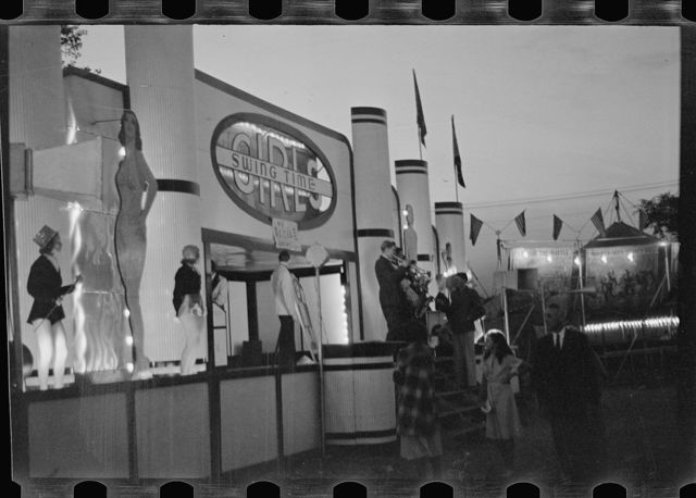 Midway attractions, State Fair, Rutland, Vermont