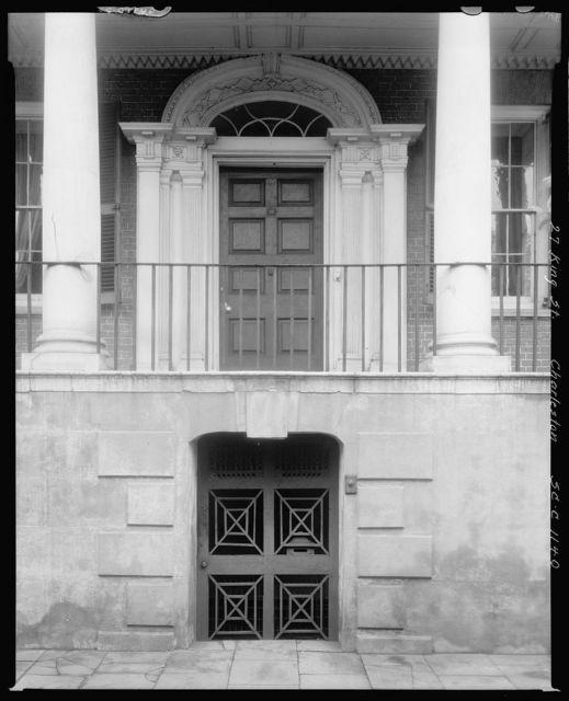 Miles Brewton House, 27 King Street, Charleston, Charleston County, South Carolina