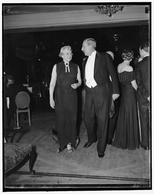 Mrs. J. Borden Harrisman & Ambassador Lindsey