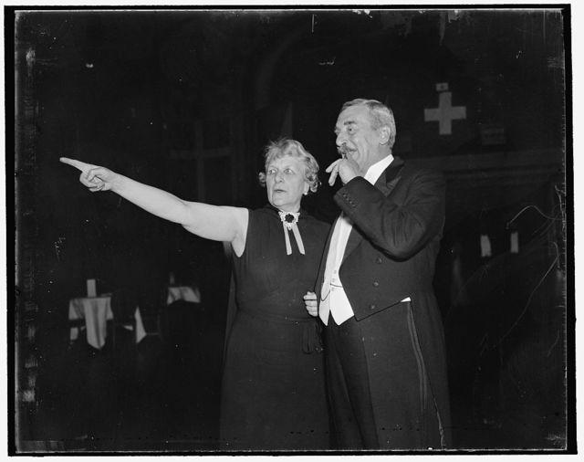 Mrs. J. Borden Harrisman & Sir Ronald Lindsey