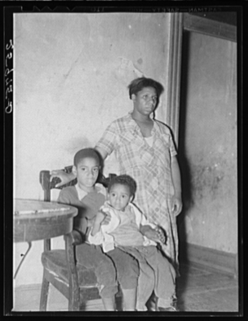 Negroes of the slum area. Washington, D.C.