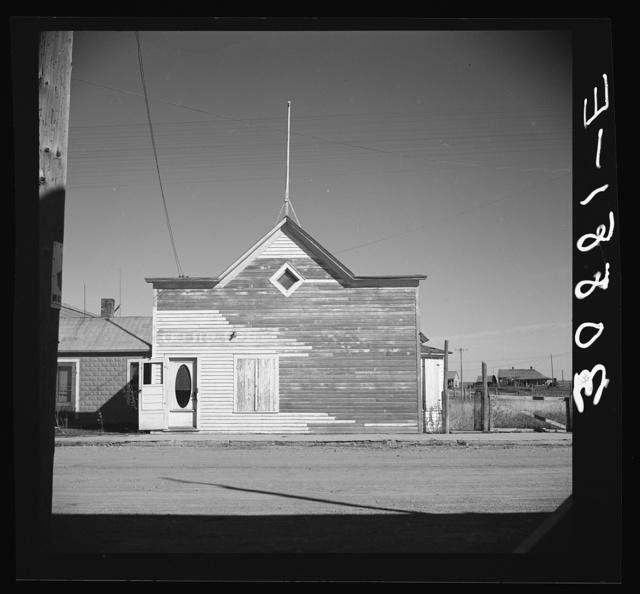 Old store. Des Lacs, North Dakota
