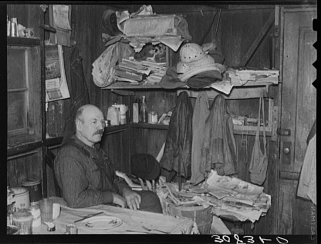 Ole Thompson, farmer near Wheelock, North Dakota