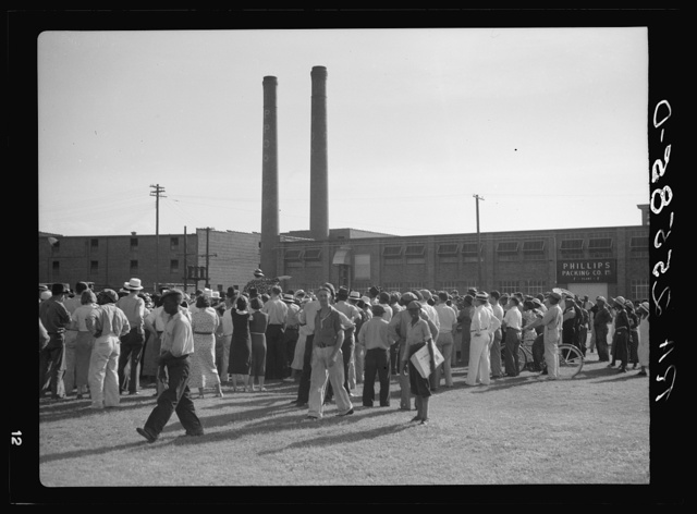 Packing company strike. Cambridge, Maryland