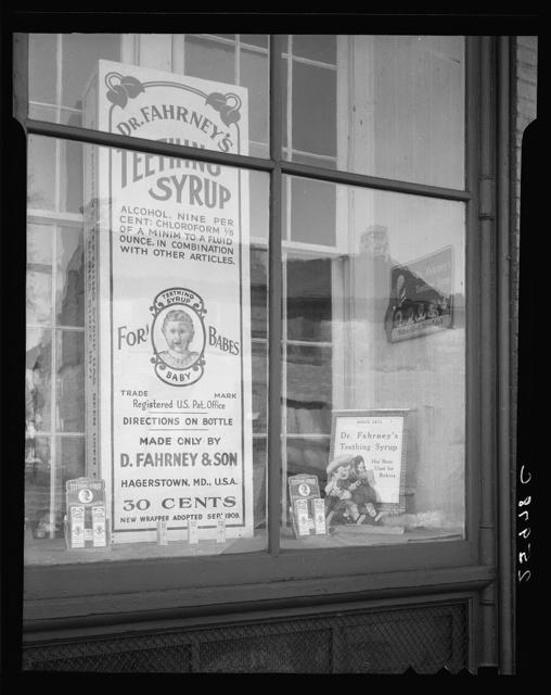 Patent medicine shop. Hagerstown, Maryland