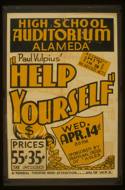 """Paul Vulpius' """"Help yourself"""" A comedy hit in 3 hilarious acts."""