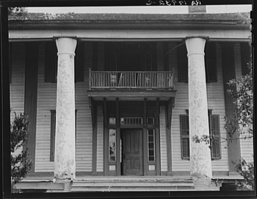 Pharr Plantation house near Social Circle, Georgia