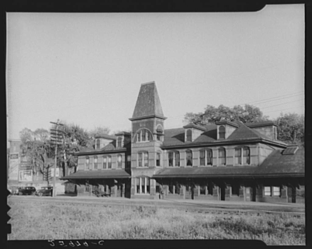 Railroad station. Hagerstown, Maryland