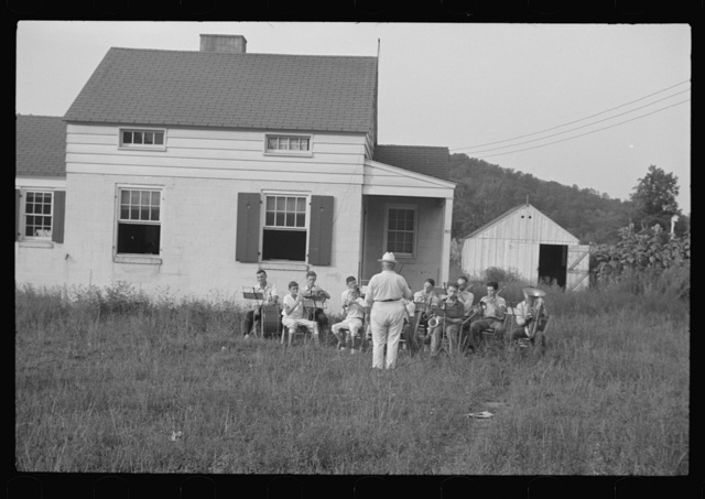 Red House band, West Virginia