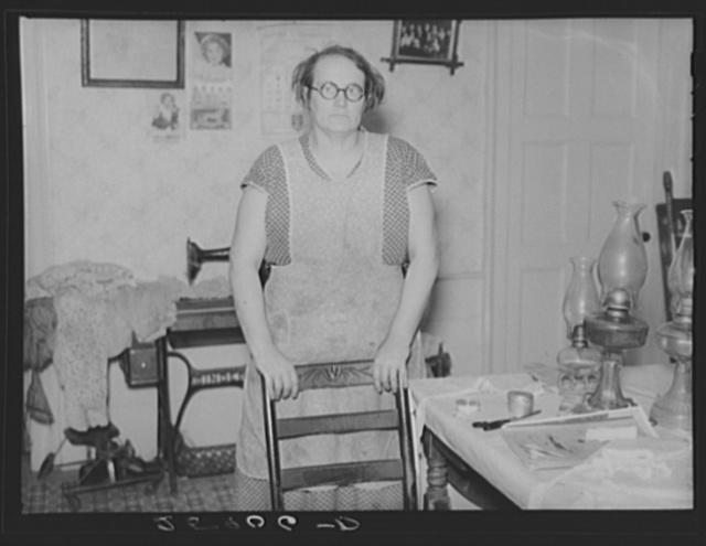 Resettlement client. Tompkins County, New York