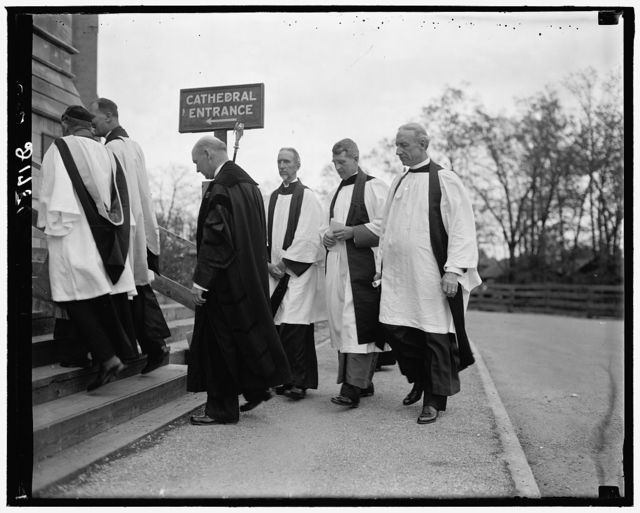 Rev. Bishop James Freeman Mt. St. Albans