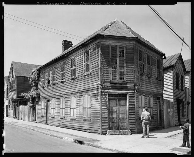 Robinson-Aiken House, 48 Elizabeth Street, Charleston, Charleston County, South Carolina