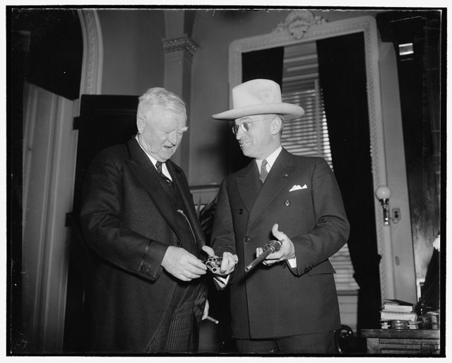 Sen. Harry Truman and Garner