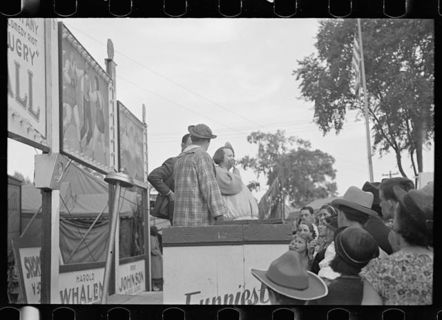 Sideshow, State Fair, Rutland, Vermont