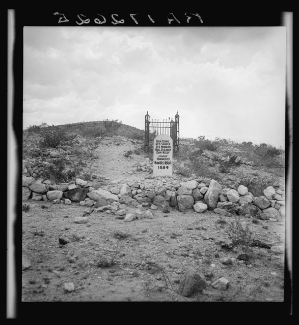 Sign near Tombstone, Arizona. Boot Hill graveyard