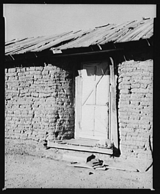 Sod house. McKenzie County, North Dakota