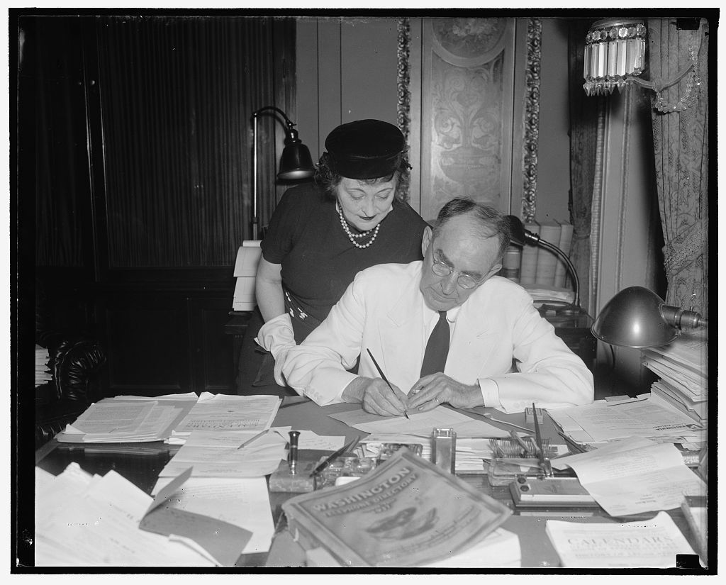Speaker and Mrs. Bankhead
