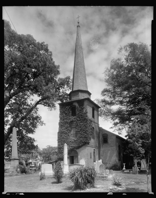 St. Paul's Church, Edenton, Chowan County, North Carolina