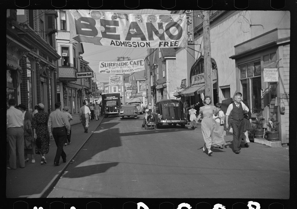 Street scene, Provincetown, Massachusetts
