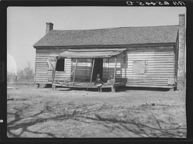 Tenant farmer's home. Macon County, Alabama