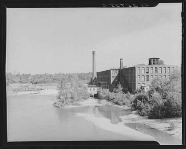 Textile mill. Winooski, Vermont