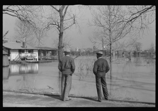 View in Memphis, Tennessee during the flood